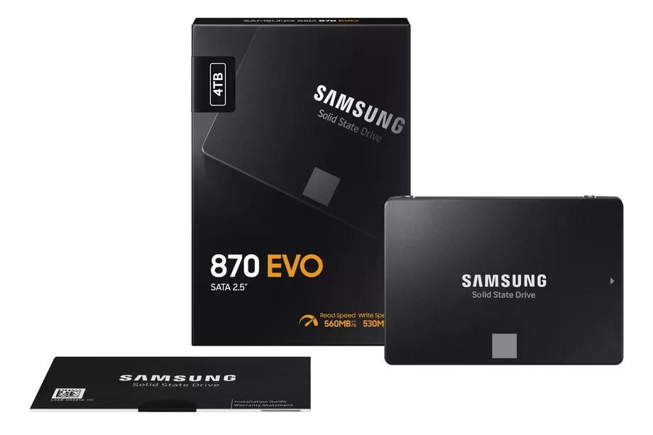 V obchodech se objeví SSD série Samsung 870 EVO