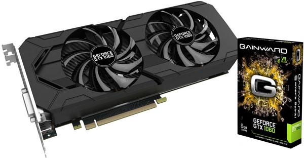 Grafická karta nVidia GeForce GTX 1060 – Gainward GeForce GTX 1060 6GB