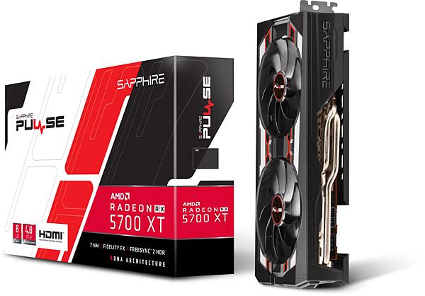 Grafická karta AMD Radeon RX 5700 XT - Sapphire Radeon PULSE RX 5700 XT 8G