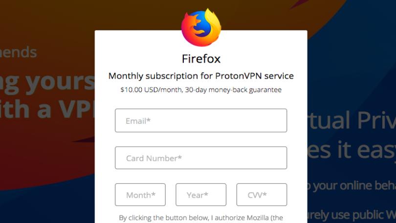 Mozilla Firefox chce nabídnout placenou VPN službu pro zvýšení soukromí