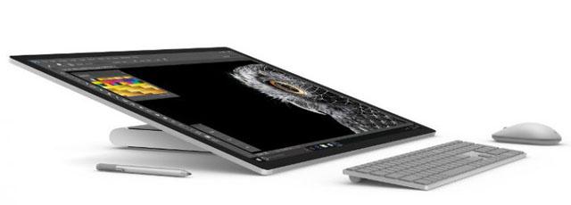 Microsoft přichází s nadupaným tenkým AiO PC Surface Studio za 3000 dolarů