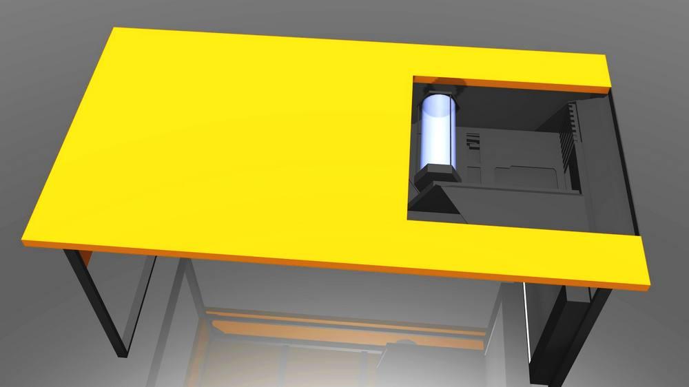 Nasvícení, texturování, animace a renderování bylo realizováno v Blenderu.