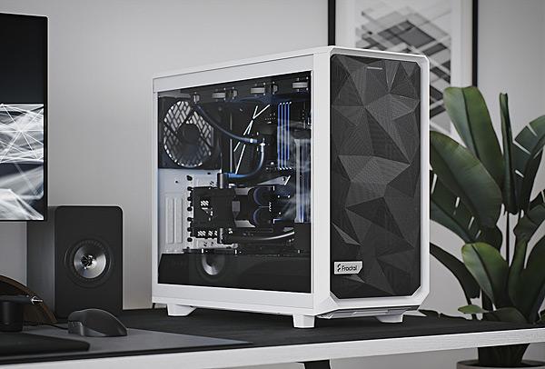 Počítačová skříň Fractal Design Meshify 2 White TG Clear Tint