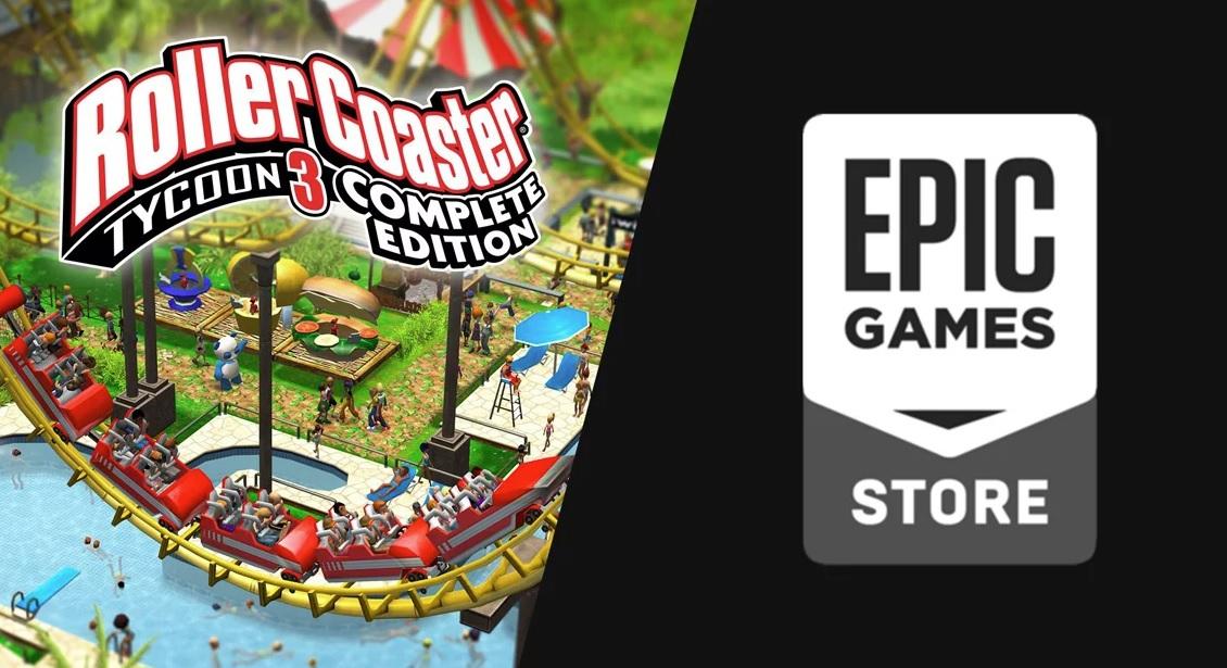 Epic rozdává RollerCoaster Tycoon 3: Complete Edition zdarma