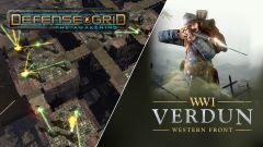 Stahujte z Epic Games Store zdarma hry Verdun a Defense Grid: The Awakening