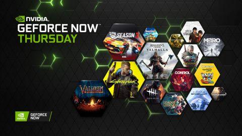 Služba GeForce NOW už nabízí více než tisíc her