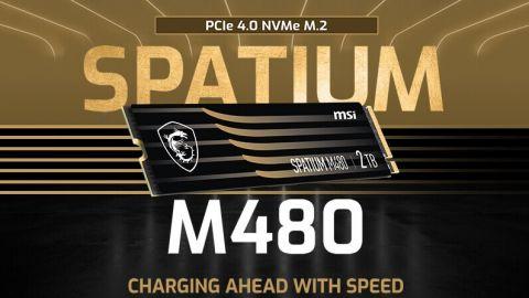 MSI má nové NVMe SSD Spatium