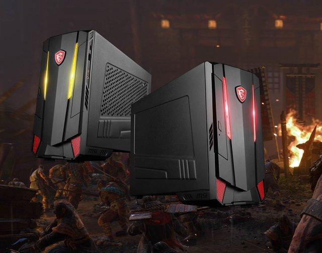 MSI Nightblade MI3: Minipočítač s Core i5-8400 a GTX 1060