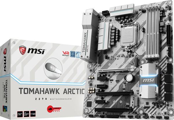 Novinka MSI Z270 TOMAHAWK ARCTIC se zastaralým audio čipem Realtek® ALC892