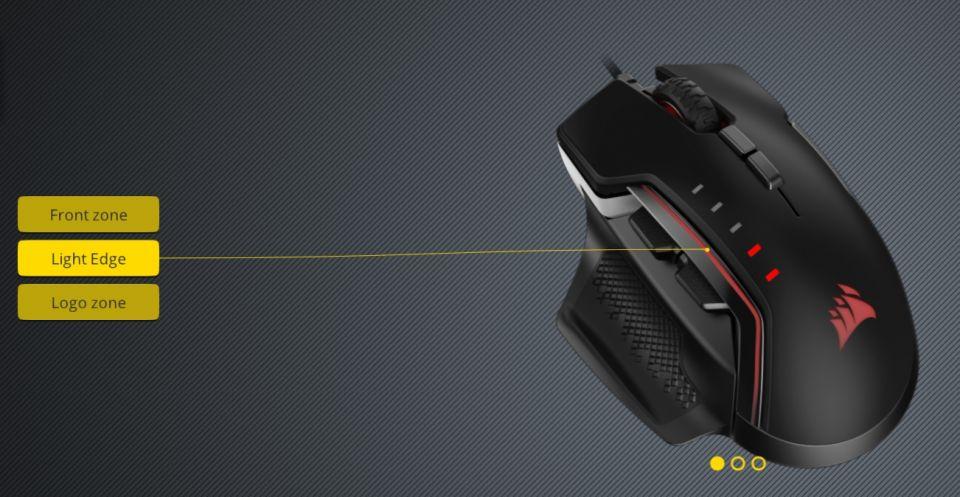 Corsair Glaive RGB Pro – hlodavec měňavec