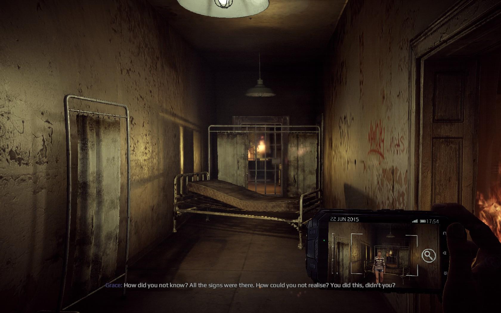 Děsivé přeludy uvnitř sanatoria