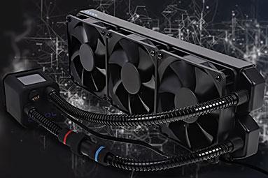 Highendový AiO vodní kit (pro CPU) Alphacool Eisbaer