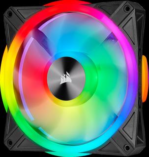 Čtvery ventilátory s RGB LED od Corsairu pro zářící PC v testu