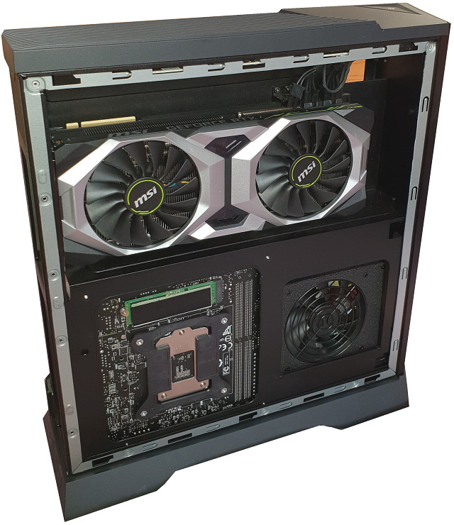 MSI Trident X: Herní počítač s Core i7-9700 a RTX 2080