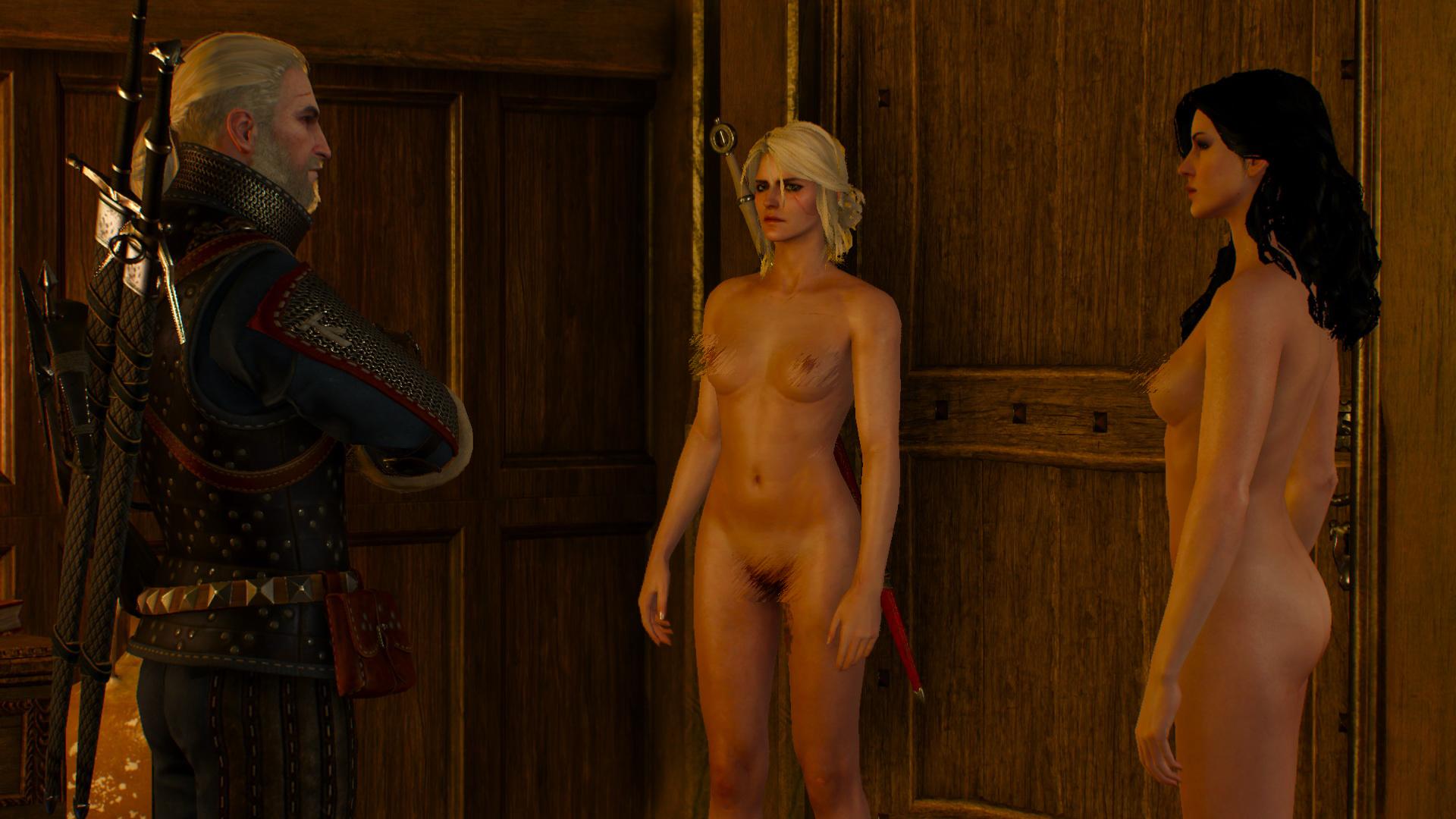 Mladá zaklínačka Ciri a čarodějka Yennefer se nemají za co stydět.