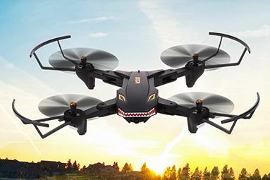Levný dron VISUO XS809S – létající hračka za pár kaček