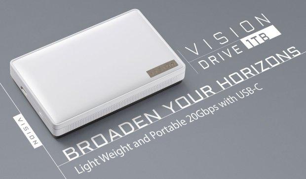 Gigabyte Vision je rychlý externí SSD
