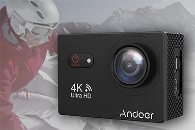 Andoer AN9000R: levná akční kamera s haldou příslušenství