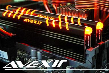 Svítící paměťové moduly Avexir – pouze v superlativech