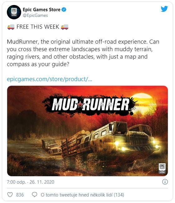 Stahujte: Epic rozdává zdarma hru MadRunner