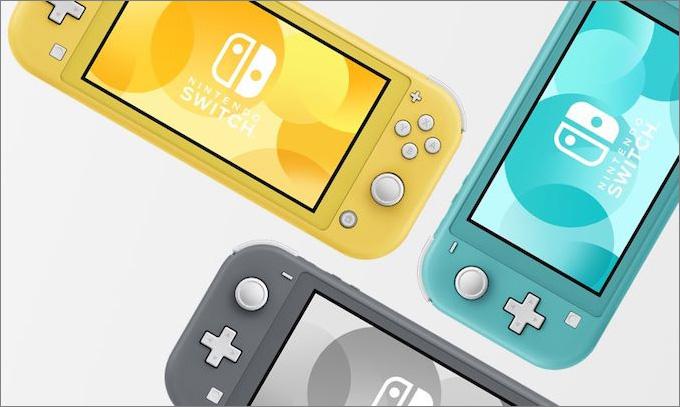 Nintendo oficiálně představilo Switch Lite. V obchodech bude 20. září