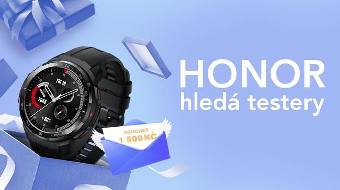 Honor hledá testery odolných hodinek Watch GS Pro
