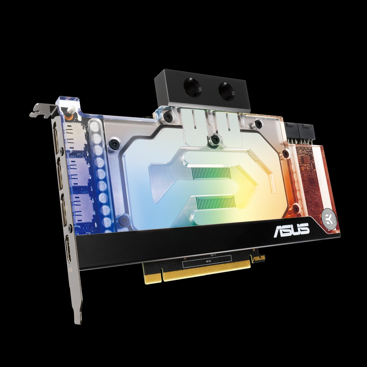 Asus uvedl nové grafické karty řady GeForce RTX 30 s vodním chlazením