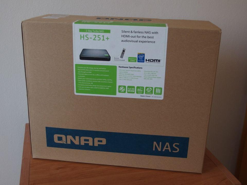 QNAP HS-251+: NAS do obýváku, výkonný a pasivně chlazený