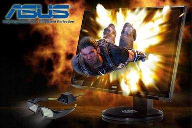 Vyhlášení soutěže o tři monitory Asus s Nvidia 3D Vision