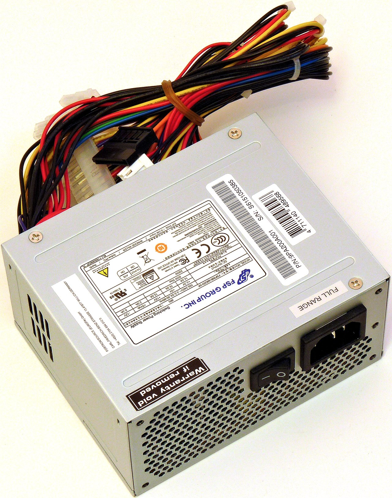 Fortron (FSP Group) FSP200-50GSV-5K (85): 200W SFX prcek