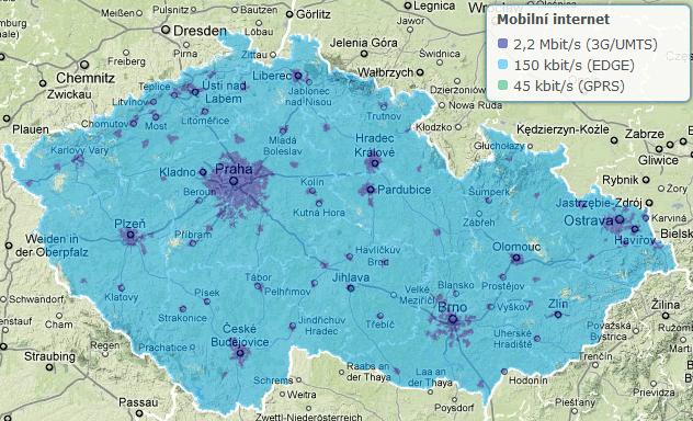 O2 a T-Mobile slibují pokrytí 3G sítí na evropské úrovni do šesti let