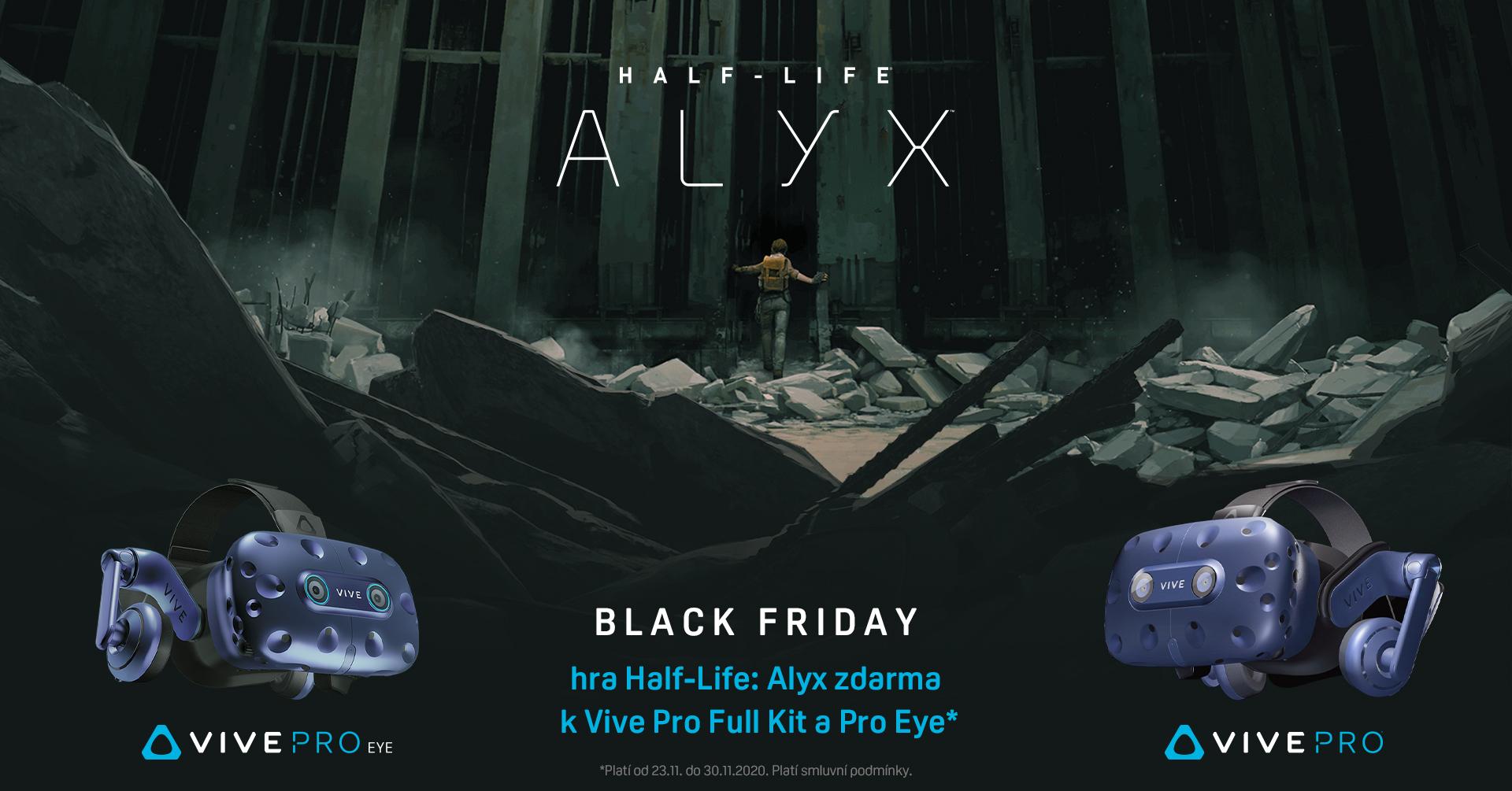 HTC připravilo na Black Friday pořádnou hromadu slev i tituly zdarma