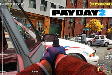 Recenze Payday 2 – super multiplayer, ale bídné zpracování