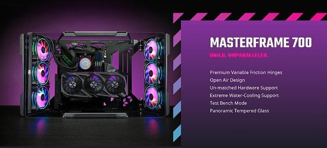 Cooler Master MasterFrame 700: Extravagantní skříň