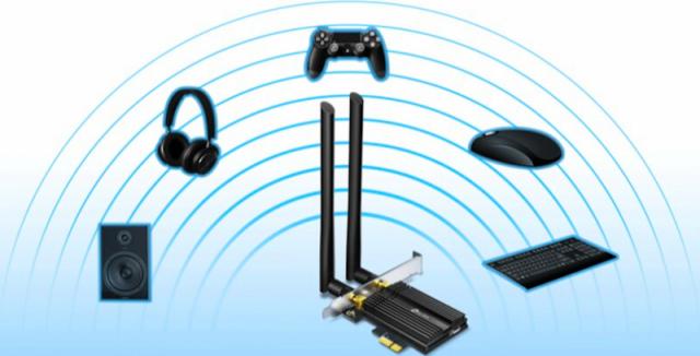 TP-Link Archer TX50E: Dopřejte Wi-Fi 6 i svému stolnímu počítači