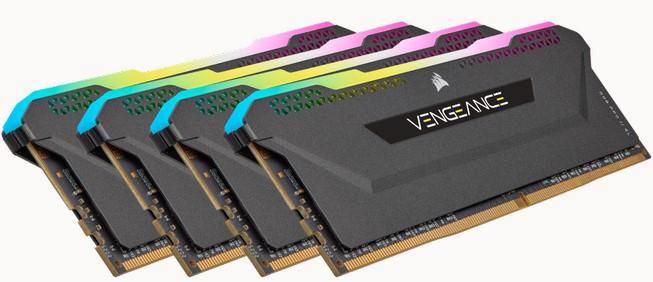 Corsair Vengeance RGB Pro SL - nízké RAM s vysokými takty