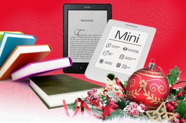 Velký výběr čteček elektronických knih pod stromeček