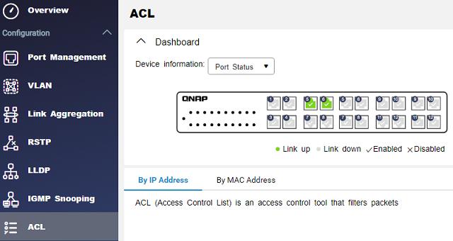 Access control list- řízení přístupů