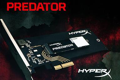 Kingston Predator 480GB: ultrarychlé SSD do slotu PCI-E