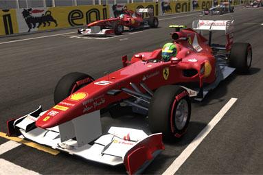 Test F1 2011 — oslnivý EGO engine opět v akci
