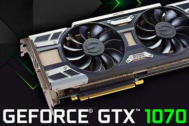 Srovnáni čtyř GeForce GTX 1070 od Asus, EVGA, MSI a Palit