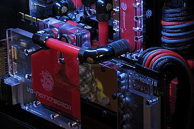 Projekt V-3: Custom case s vodním chlazením