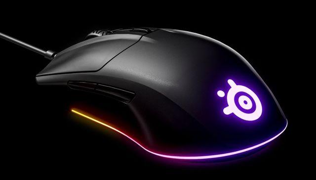 SteelSeries Rival 3 - levná herní myš pro náruživé FPS hráče