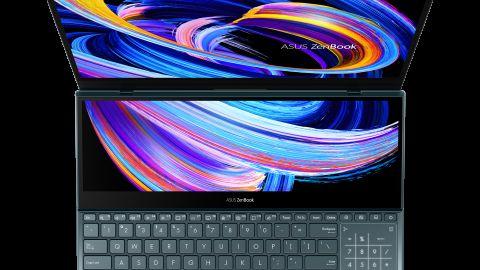 ZenBook Pro Duo 15 OLED: Unikátní notebook se dvěma displeji v prodeji