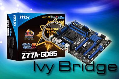 MSI Z77A-GD65 – čipset (Z77 Express) pro Ivy Bridge v akci