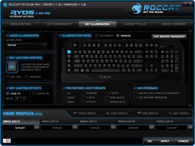 Roccat Ryos MK Pro – klávesnice, která má všechno