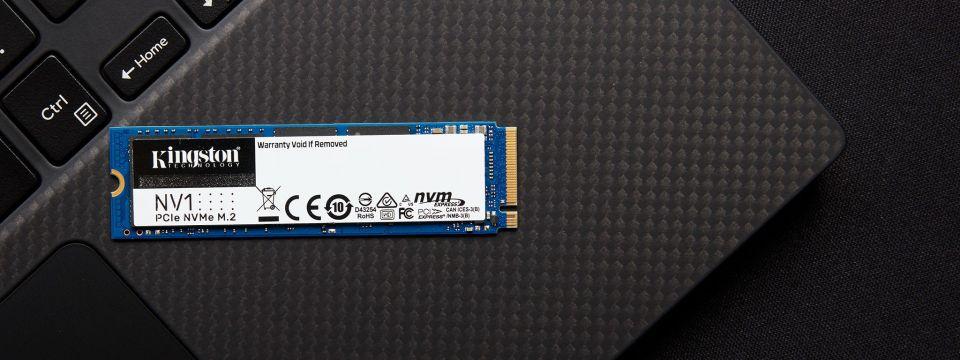 Kingston Digital začíná nabízet NVMe PCIe SSD NV1