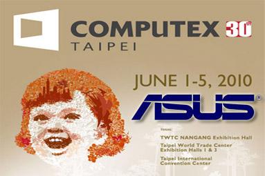 Asus na výstavě Computex 2010 – záplava novinek