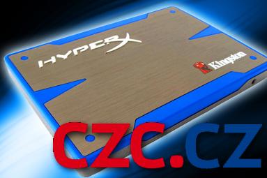 Soutěžíme o SSD a paměti Kingston HyperX s CZC.cz