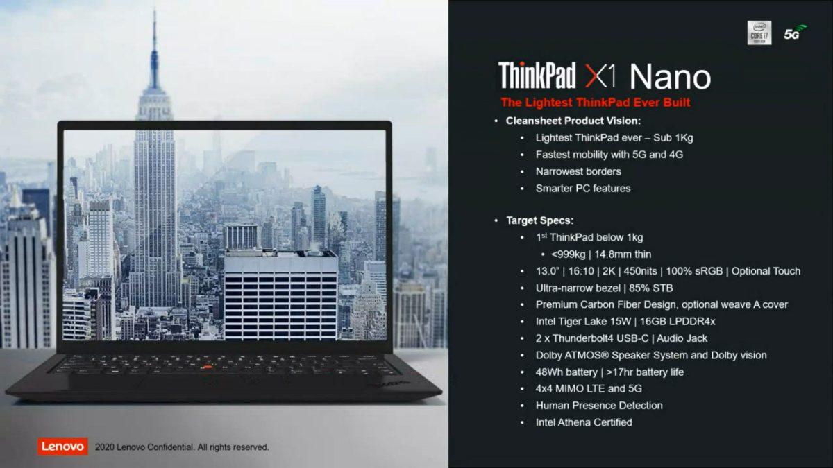 Lenovo ThinkPad X1 Nano je výkonný, neváží ani kilo a nabízí skvělou výdrž